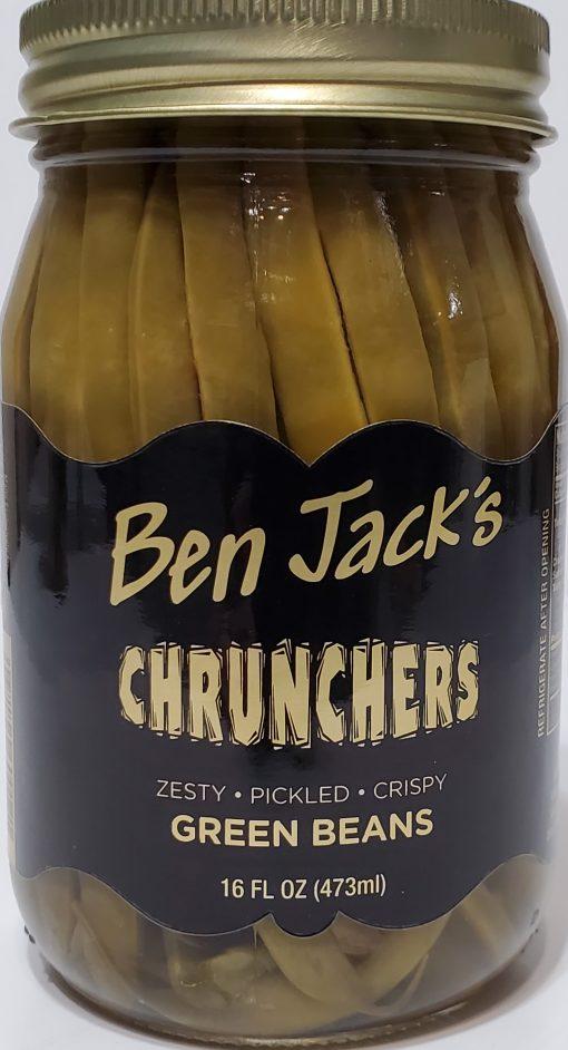 16oz Pickled Green Bean CHRUNCHERS!